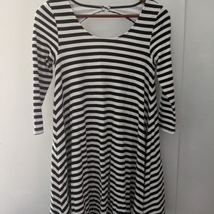 -American Eagle- Striped Dress